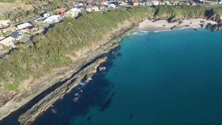 Burgess Beach South aerial