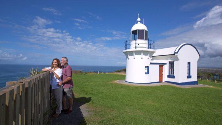 Crowdy Head Lighthouse Couple