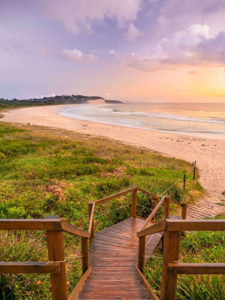 One Mile Beach sunrise (image by Mark Fitz Photography)