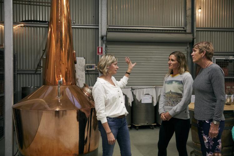 The Farmers Wife Gin distillery