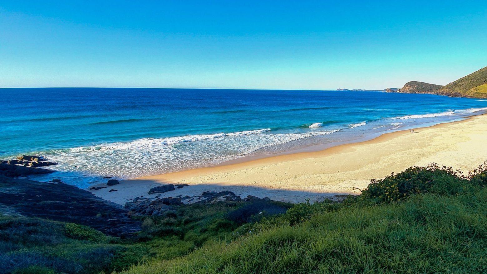 Blueys Beach headland, Pacific Palms
