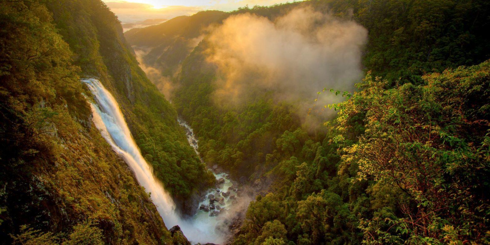 Ellenborough falls, Elands single drop waterfall