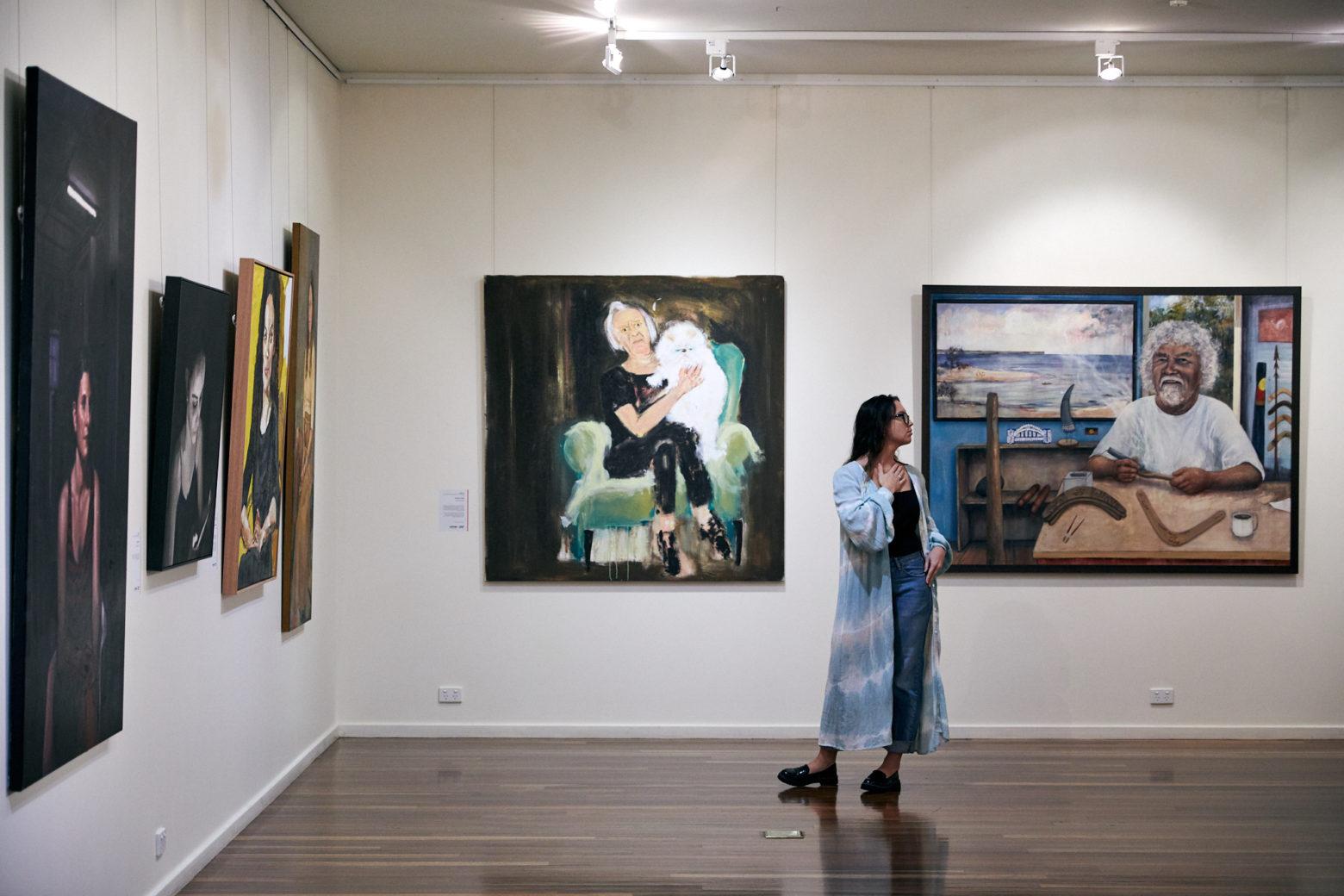 Manning Regional Art Gallery interior 3