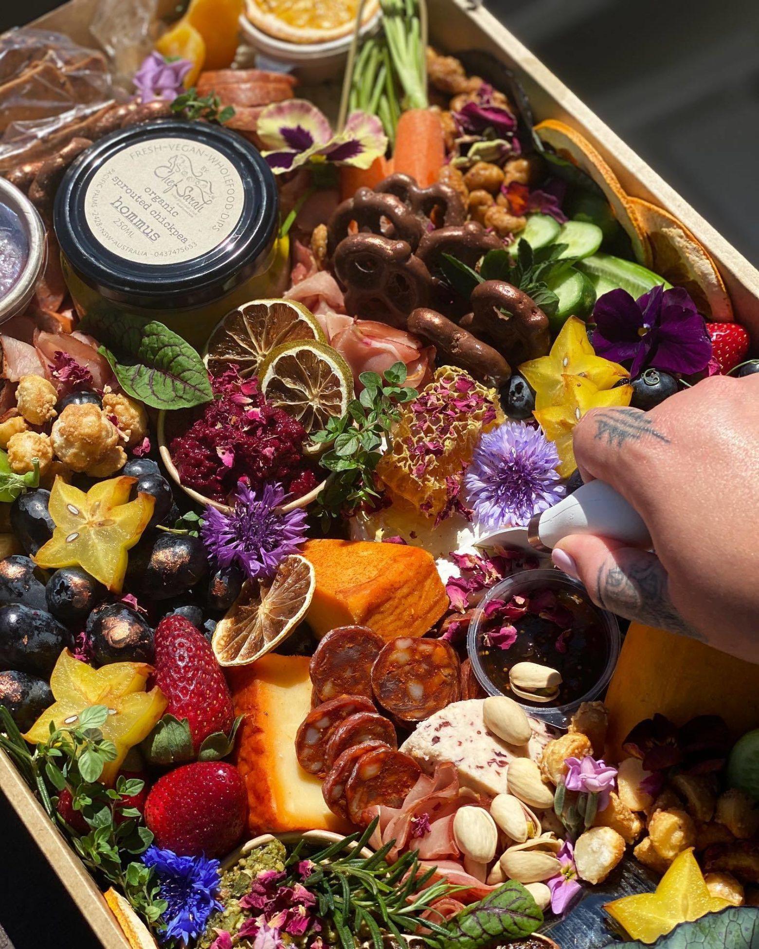 Wild Feast Grazing Co - grazing platter
